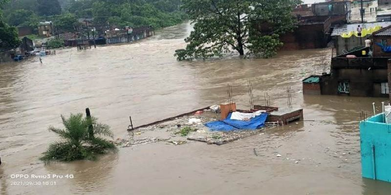 CYCLONE GULAB WASHED OUT THE CITY OF ASANSOL - SUPPORT A REGISTERED SOCEITY TO ASSIST THE AFFECTED